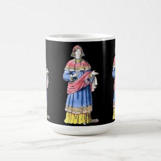 ~ COSTUMES ~ Anglo-Saxon Princess ~ bef 500 AD ~ Coffee Mug