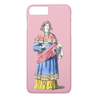 ~ COSTUMES ~ Anglo-Saxon Princess ~ bef 500 AD ~ iPhone 8 Plus/7 Plus Case