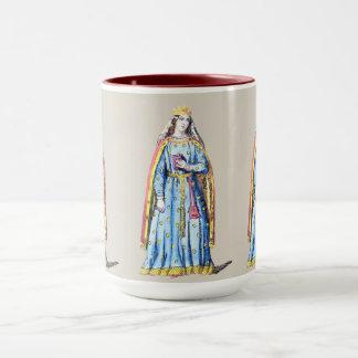 ~ COSTUMES ~Berengaria Queen of Richard 1st ~ 1195 Mug