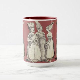~ COSTUMES ~ French Peasants ~ Marseilles ~ 1850s Mug