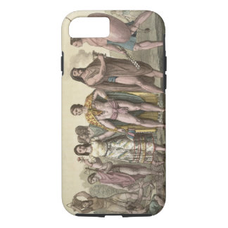 Costumes of the Mexicans (colour engraving) iPhone 7 Case