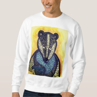 Cosy and warm badger sweatshirt