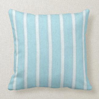 """Cosy Cushion's"" Snuggle Blue & White_LARGE Cushion"
