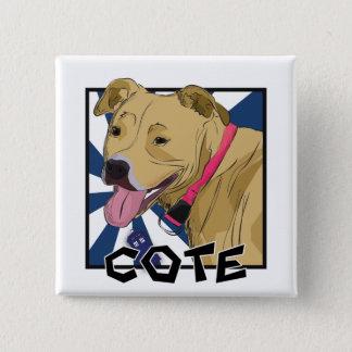 Cote 15 Cm Square Badge