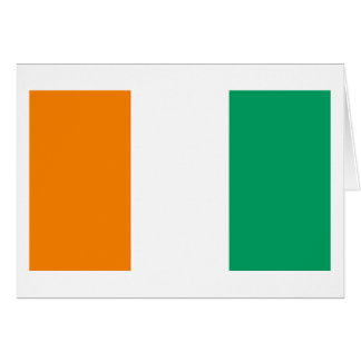 COTE D'IVOIRE Greeting Card