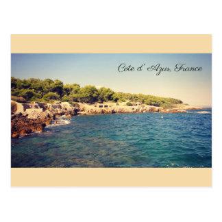Cote d'Azur, Antibes, France Postcard