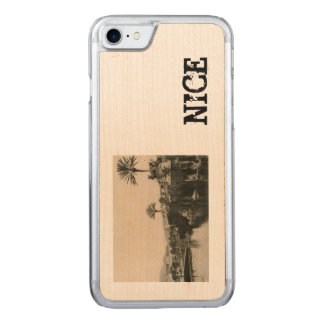 Cote D'Azur Nice  La Casino 1910 Carved iPhone 7 Case