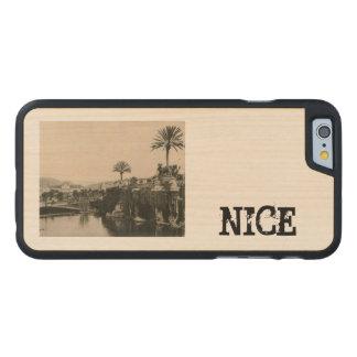 Cote D'Azur Nice  La Casino 1910 Carved® Maple iPhone 6 Case