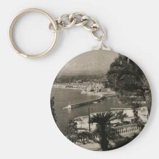COTE D'AZUR - Nice 'Promenade des Anglais' 1950 Key Chains