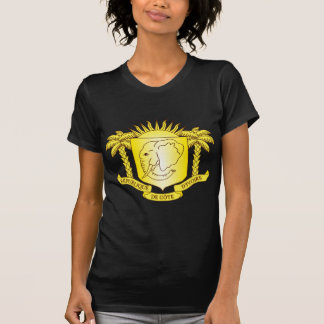 Cote d'Ivoire Coat of arms CI T-Shirt