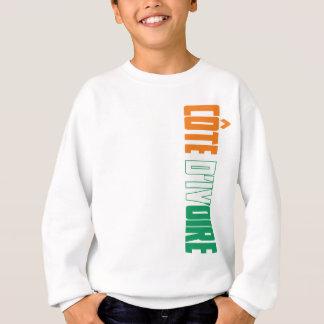 Cote d'ivoire flag Ivory Coast Flag Sweatshirt
