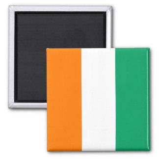 Cote d'Ivoire Flag Magnet