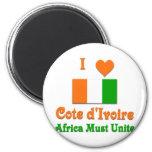 Cote d'Ivoire Fridge Magnets