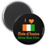 Cote d'Ivoire Magnets