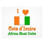Cote d'Ivoire Personalized Invitation