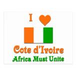 Cote d'Ivoire Post Cards