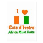 Cote d'Ivoire Postcard