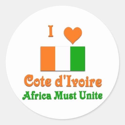 Cote d'Ivoire Sticker