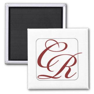 Coterie Rouge Square Magnet