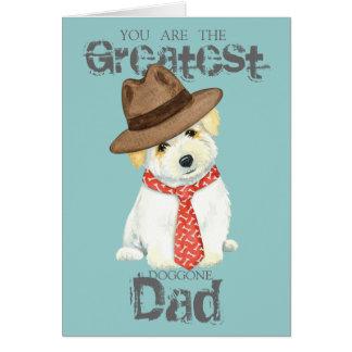 Coton de Tulear Dad Card