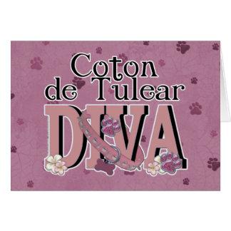 Coton de Tulear DIVA Card
