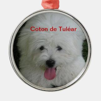 Coton de Tulear ornament