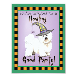 Coton Witch 11 Cm X 14 Cm Invitation Card