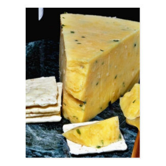Cotswold Double Gloucester Cheese Postcard