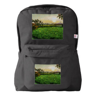 Cottage and farm backpack