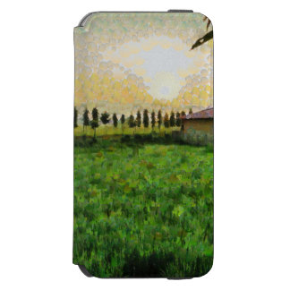Cottage and farm incipio watson™ iPhone 6 wallet case