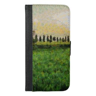 Cottage and farm iPhone 6/6s plus wallet case
