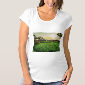 Cottage and farm maternity T-Shirt