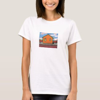 cottage by the bay for acrylic T-Shirt
