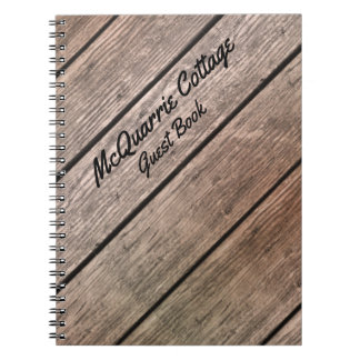 Cottage Cabin or Boat Guest Book