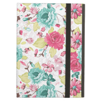 Cottage Chic Flower Pattern Case For iPad Air