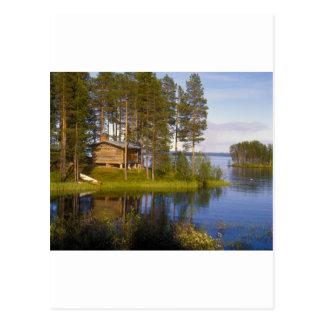 Cottage, Finland Postcard