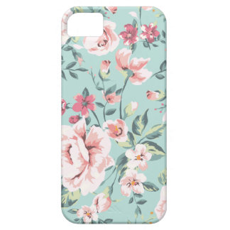 Cottage Floral Pattern Case For The iPhone 5