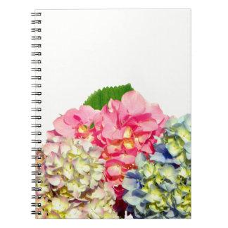 Cottage Hydrangeas Notebook