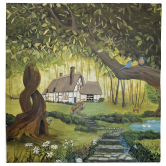 Cottage in the Woods Napkin