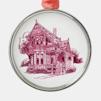 Cottage Metal Ornament