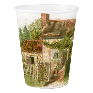 Cottage Paper Cup