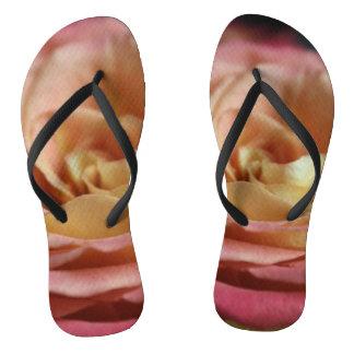 Cottage Rose Flip Flops