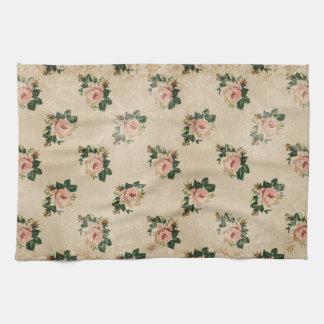 Cottage Rose Kitchen Towel