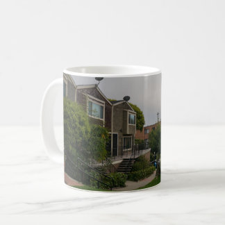 Cottage Row Victorian Houses Mug