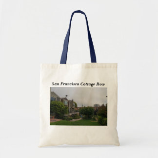 Cottage Row Victorian Houses Tote Bag