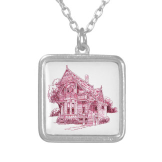 Cottage Silver Plated Necklace