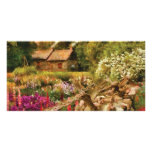 Cottage - There's no place like home Photo Card Template