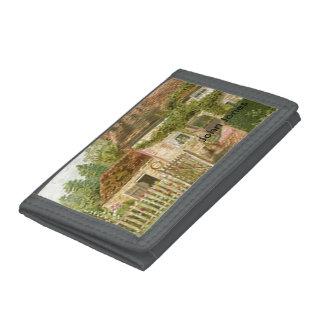Cottage Tri-fold Wallets