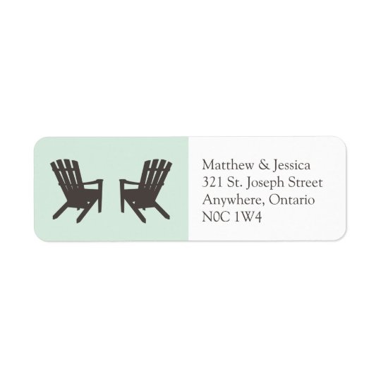 Cottage Wedding // Return Address Labels