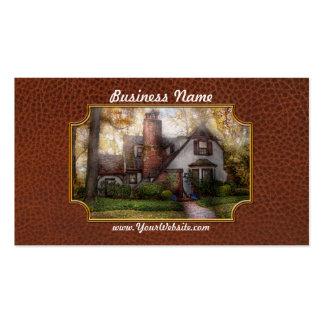 Cottage - Westfield, NJ - Grandma Ridinghoods hous Business Card Templates